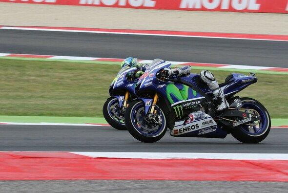 Lorenzo und Rossi brachten sich in Misano um den Sieg - Foto: Tobias Linke