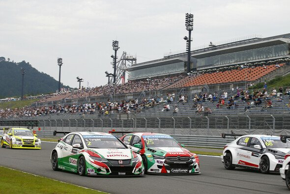 Auf dem Twin Ring Motegi gab es jede Menge Rennaction - Foto: WTCC