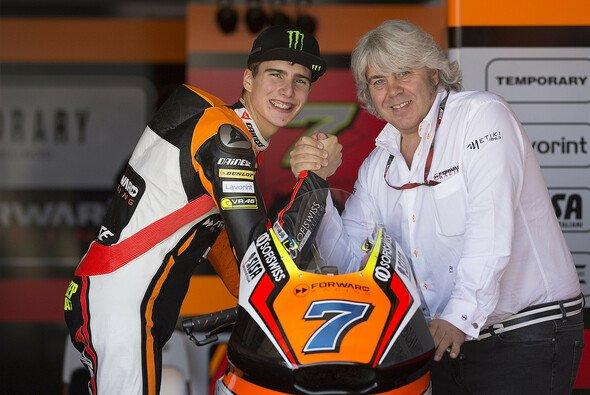 Bleiben ein Team, sofern Letzteres weiter besteht: Lorenzo Baldassarri und Giovanni Cuzari - Foto: Forward Racing