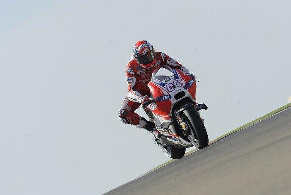Andrea Dovizioso blickt schweren Zeiten entgegen - Foto: Ducati