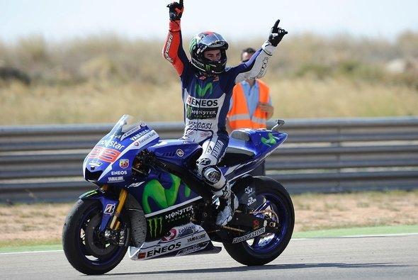 Jorge Lorenzo drückte dem Rennen seinen Stempel auf - Foto: Yamaha