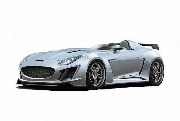 Der AJ 23 CC beruht auf der Basis des Jaguar F-Type - Foto: Arden