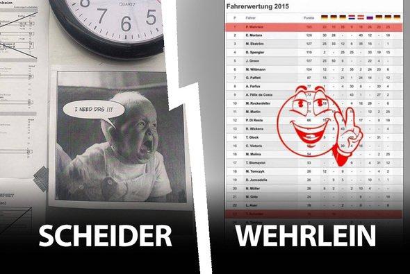 Facebook-Fight zwischen Timo Scheider und Pascal Wehrlein - Foto: Facebook/Scheider/Wehrlein