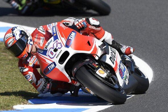 Andrea Dovizioso startet vor seinem Teamkollegen Iannone in den Japan GP - Foto: Ducati