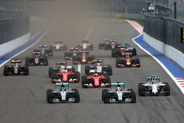 Mehr als vier Millionen Zuschauer sahen den Russland GP bei RTL - Foto: Mercedes-Benz