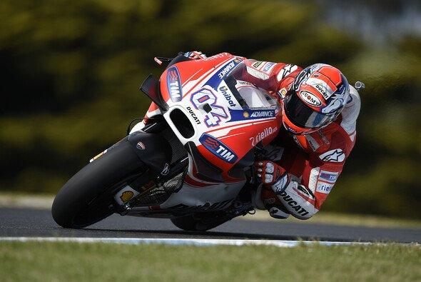 Kein Wiederholungsbedarf: Andrea Dovizioso landete in Australien nur auf dem 13. Platz - Foto: Ducati