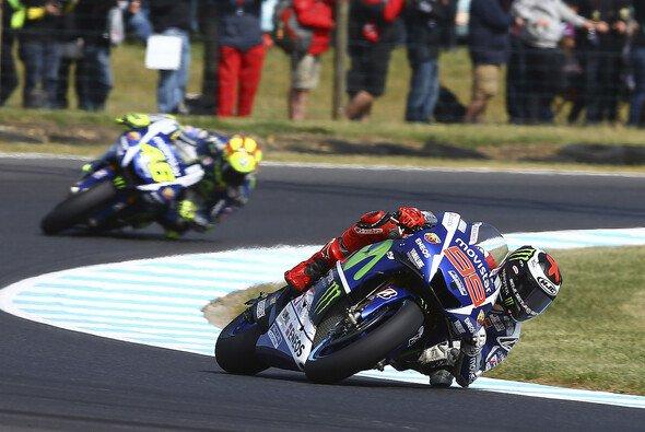 Lorenzo muss in Sepang vor Rossi landen, will er seine Titelchance wahren - Foto: Yamaha