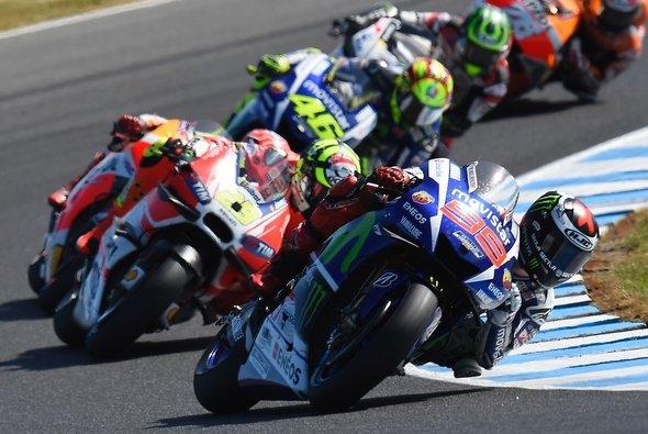 Ausgerechnet nach dem Hammerrennen von Phillip Island schockt Eurosport die Kabel-Deutschland-Kunden - Foto: Yamaha