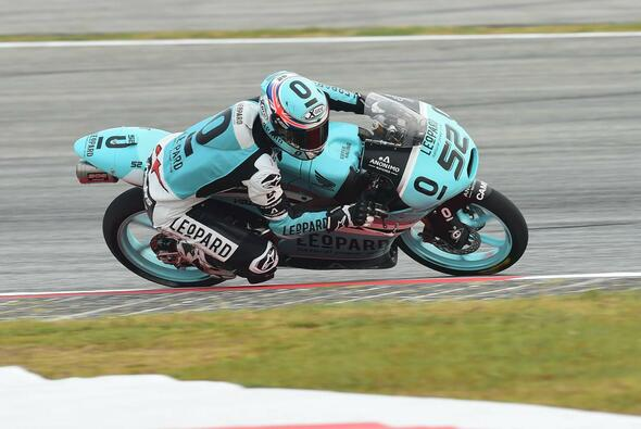 Danny Kent zeigte sich in Sepang im dritten Training souverän - Foto: Leopard Racing