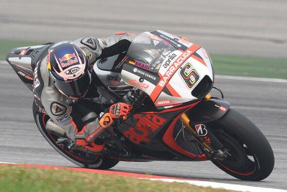 Stefan Bradl ist zur Zeit der einzige deutsche MotoGP-Pilot - Foto: Aprilia