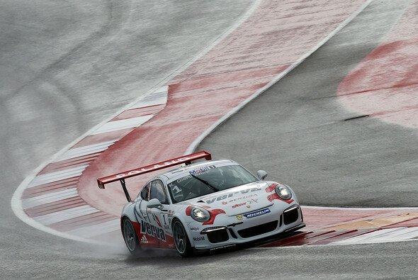 Auch der Porsche Supercup leidet unter dem Regen in Austin - Foto: Porsche AG