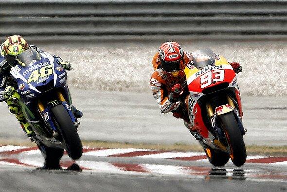 Marquez zog Rossi in Sepang den letzten Nerv - Foto: Repsol