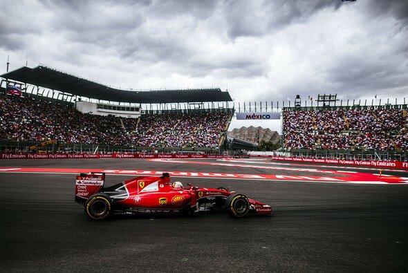 Vettel zeigt sich in Mexiko ambitioniert wie immer - Foto: Ferrari