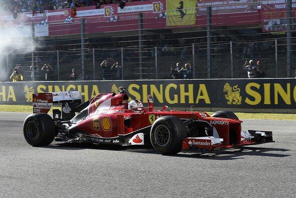 Sebastian Vettel beim Ferrari-Weltfinale 2015 in Mugello - Foto: Ferrari
