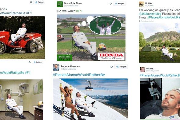 Von GP2-Motoren bis Brownies - wir haben die besten Sprüche gesammelt - Foto: Twitter Collage