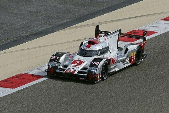 Der Audi mit der Startnummer 7 hat noch Titelchancen - Foto: Audi
