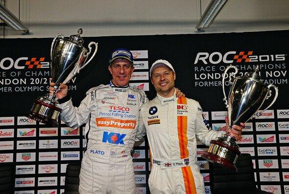Andy Priaulx und Jason Plato siegten beim Nations Cup zum Auftakt des Race of Champions-Wochenendes - Foto: ROC