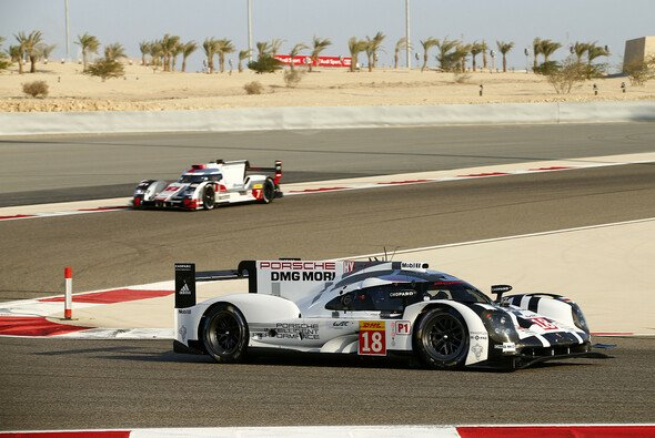 Dumas/Jani/Lieb machten mit ihrem Sieg gegen den Audi #7 die Markengefährten zum Fahrer-Weltmeister - Foto: Porsche