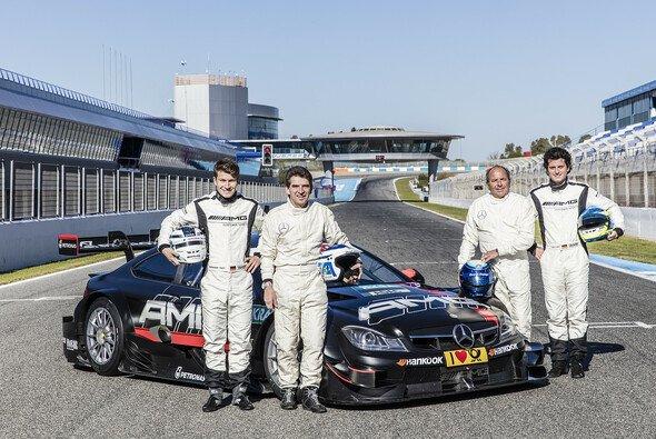 Doppel-Asch und Doppel-Ludwig in Jerez - Foto: Daimler