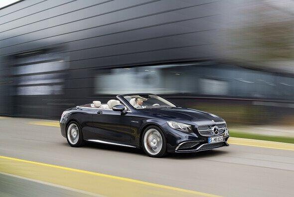Neuzugang in der S-Klasse Familie: Das S 65 Cabriolet - Foto: Mercedes-AMG