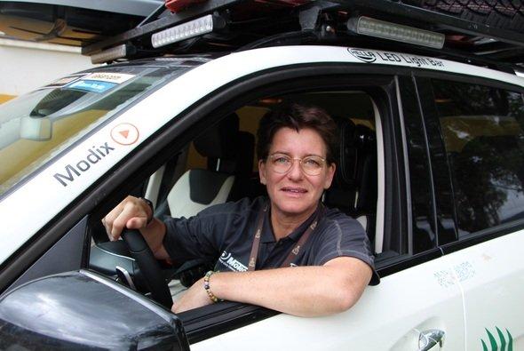Ellen Lohr kommentiert die dritte Rallye-Dakar-Etappe - Foto: Ellen Lohr