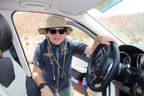 Ellen Lohr berichtet täglich von der Rallye Dakar - Foto: Ellen Lohr