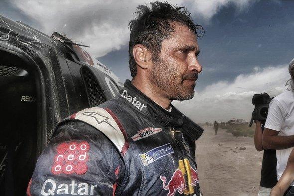 Nasser Al-Attiyah muss aufgeben - Foto: ASO/DPPI