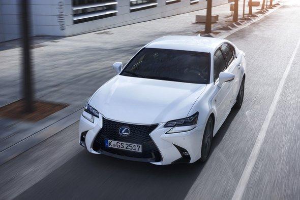 Den neuen Lexus GS gibt es in zwei Hybridvarianten - Foto: Toyota Motor Europe