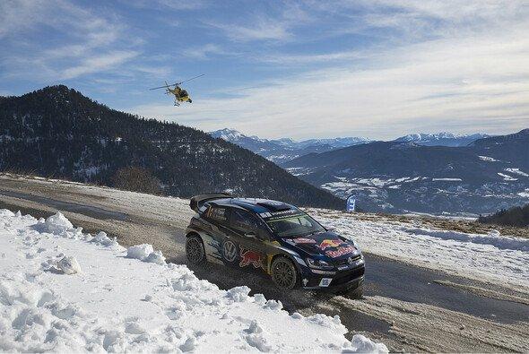 Sebastien Ogier feierte den dritten Monte-Sieg in Folge - Foto: Volkswagen Motorsport