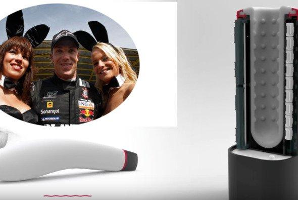 Dildos statt Formel 1: Läuft bei Robert Doornbos - Foto: Motorsport-Magazin.com Montage