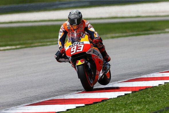 Marc Marquez' Honda läuft nicht rund - Foto: Repsol