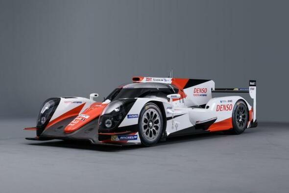 So sieht der neue Rennwagen von Toyota aus - Foto: Toyota