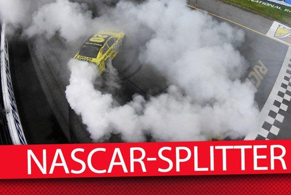 Donuts gehören zur NASCAR wie Lucky Dogs und die Victory Lane - Foto: NASCAR