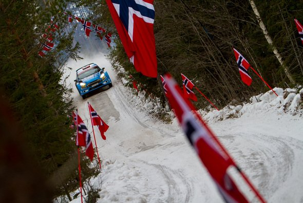 Die Norweger machen das Starterfeld bei der Rallye Schweden spannend - Foto: Patrik Pangerl