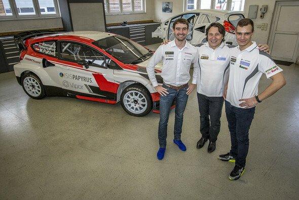 Timur Timerzyanov und Janis Baumanis werden für das World RX Team Austria an den Start gehen - Foto: WRXTA