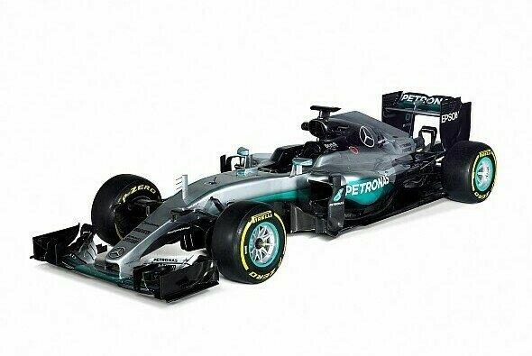 Der Mercedes F1 W07 Hybrid soll Mercedes auch 2016 zum Weltmeister machen - Foto: Mercedes-AMG