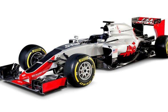 Haas hat seinen ersten Renner vorgestellt - Foto: Haas F1 Team