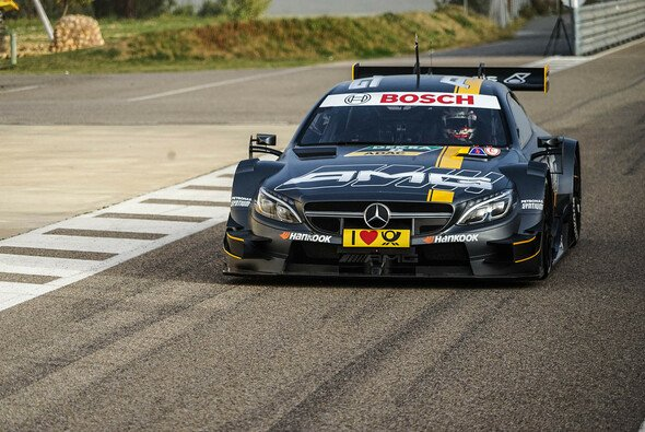 Christian Vietoris durfte in diesem Jahr bereits testen. Das Glück hatte nicht jeder DTM-Pilot - Foto: Mercedes