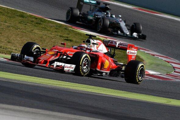 Hängen Räikkönen und Ferrari Mercedes 2016 ab? - Foto: Ferrari