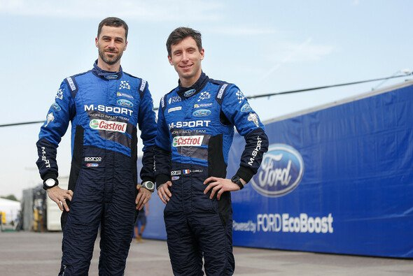 Eric Camilli und Benjamin Veillas fuhren 2016 zusammen bei M-Sport - Foto: Ford