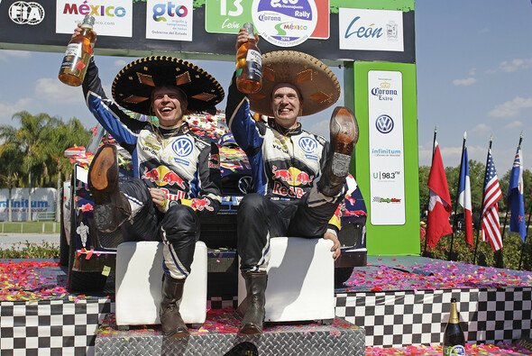 Jari-Matti Latvala feierte seinen ersten Sieg bei der Rallye Mexiko - Foto: Volkswagen Motorsport