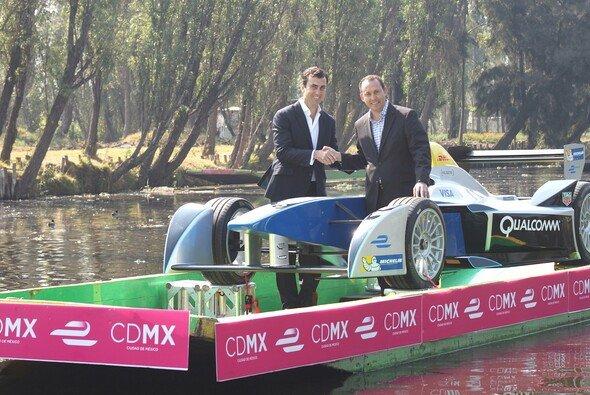 Die Anreise der Formel-E-Boliden zum Mexiko ePrix ist gewagt ... - Foto: FIA Formula E