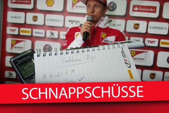 Kimi-Bingo ist der neue Trend im Paddock - Foto: Motorsport-Magazin.com