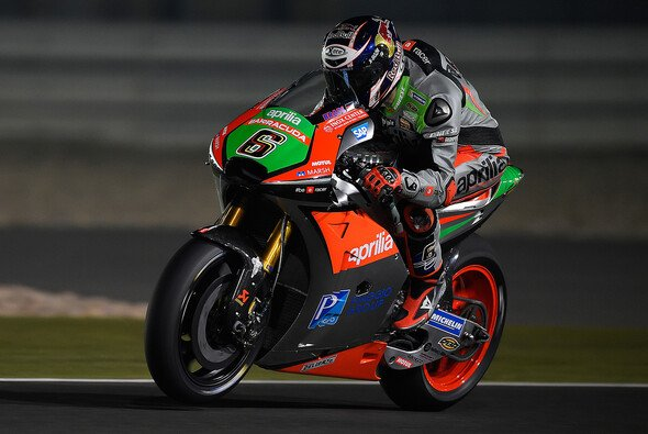 Vorletzter, aber positiv gestimmt war Stefan Bradl am Katar-Freitag - Foto: Aprilia Racing Team Gresini