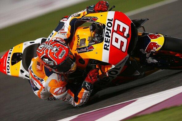 Marc Marquez beklagte sich auf am Katar-Freitag über Probleme mit der Motorbremse - Foto: Repsol Media