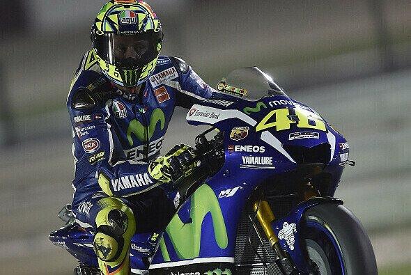 Valentino Rossi hatte im FP2 von Katar zu kämpfen - Foto: Yamaha
