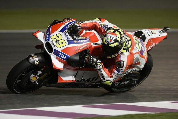 Andrea Iannone war am Freitag Schnellster, hadert aber mit der Reifenwahl - Foto: Ducati