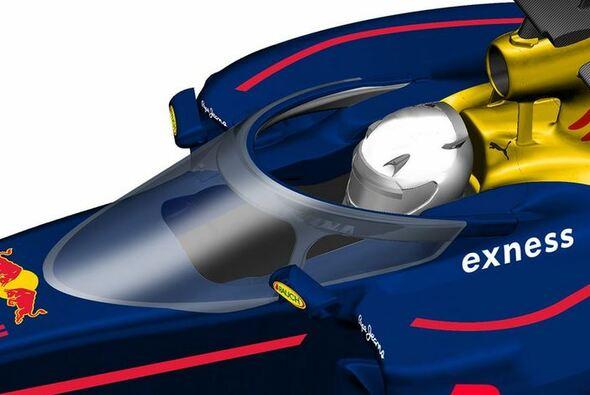 Statt Halo: Eine neue Art Aeroscreen namens Shield könnte die Zukunft sein - Foto: Red Bull