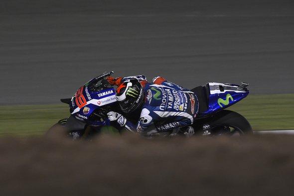 Jorge Lorenzo holte sich den Sieg beim Saisonauftakt - Foto: Yamaha