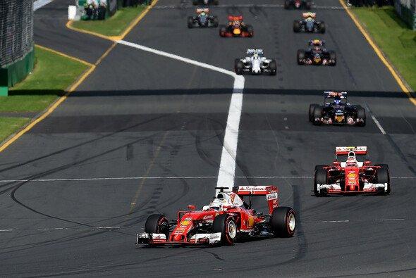 RTL freut sich beim Saisonstart über mehr Zuschauer - Foto: Ferrari